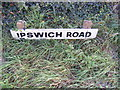 TM2643 : Ipswich Road sign by Adrian Cable