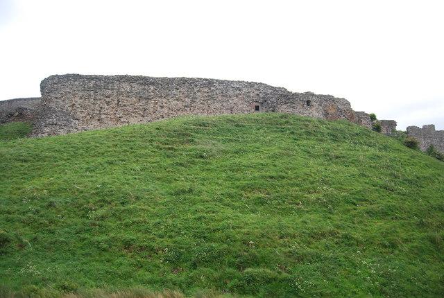 Berwick Castle Walls