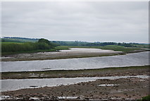 NT9953 : Mudflats, River Tweed by N Chadwick
