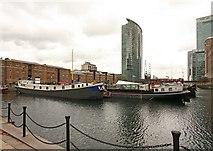 TQ3780 : West India Dock North by John Salmon