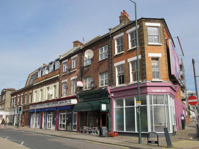 Shops and flats, Harrow Road, NW10
