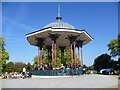 TQ2874 : Clapham Common Bandstand by Marathon