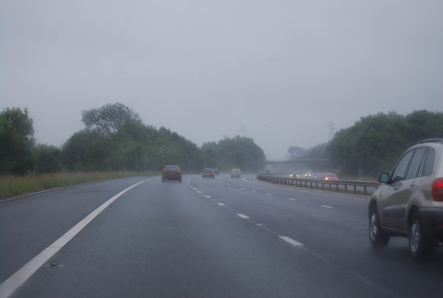 M6 south of Burton Services