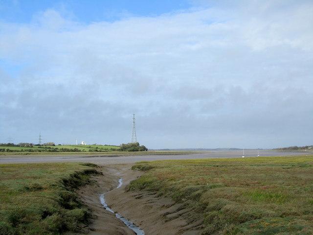 Wyre Estuary from Pegs Pool Tidal Door