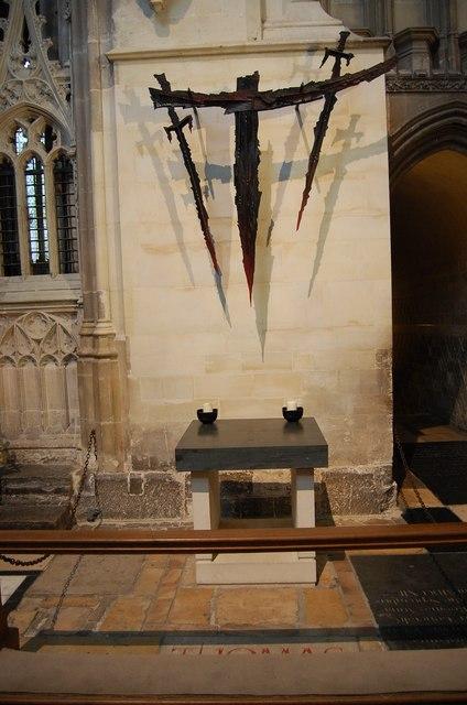 The Martyrdom Canterbury Cathedral 169 Julian P Guffogg Geograph Britain And Ireland