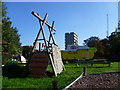 TQ3076 : Slade Gardens Adventure Playground by Marathon