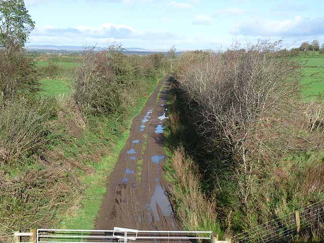 Disused railway near Arthuret