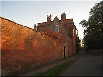 SK7964 : The Dower House and St. Mary's church by Jonathan Thacker