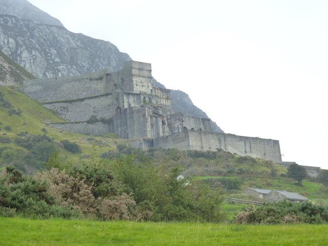 The Impressive Ruins Of Yr Eifl Granite 169 Meirion Cc By