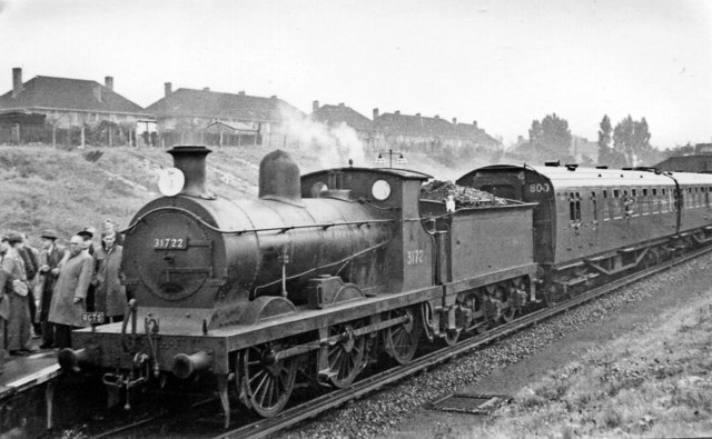 Railway Correspondence & Travel Society South London Rail Tour at St Helier