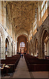 ST6316 : A brief tour of Sherborne Abbey - the nave by Mike Searle