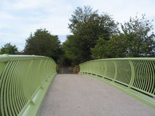Greenway bridge, Crackley