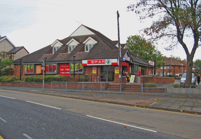 SPAR store (formerly Jacksons), 246 Marlpool Lane, Kidderminster