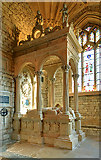 ST6316 : A brief tour of Sherborne Abbey - the Leweston tomb by Mike Searle