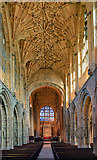 ST6316 : A brief tour of Sherborne Abbey - the nave (2) by Mike Searle