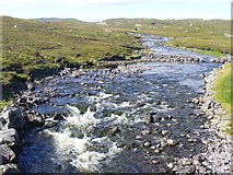 NB2129 : Grimersta River from the Bridge by Colin Smith