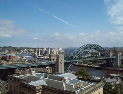 NZ2563 : Newcastle Upon Tyne by Finlay Cox