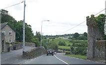 N9673 : Approaching the Slane Bridge along the N2 by Eric Jones