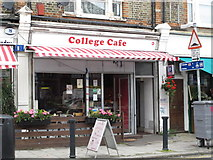 TQ2383 : College Cafe, College Road, NW10 by Mike Quinn