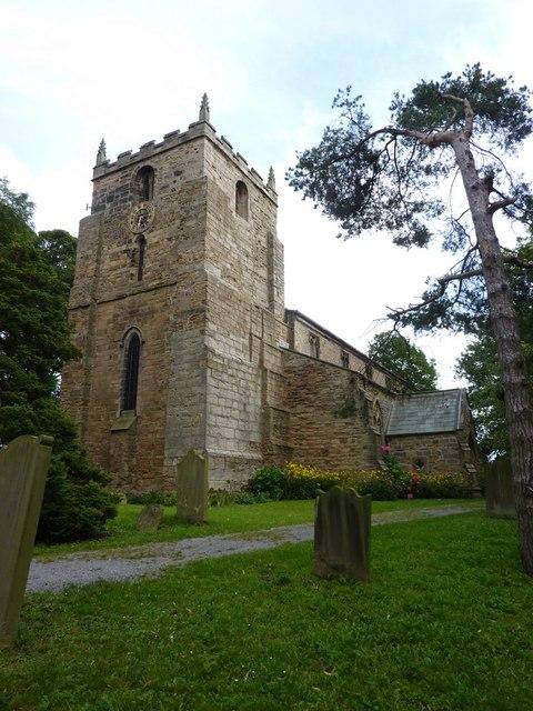 St Laurence Church at Hallgarth
