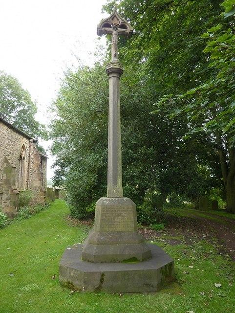 St Laurence Church at Hallgarth, War Memorial