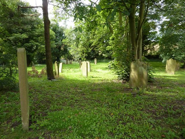 St Laurence Church at Hallgarth, Graveyard