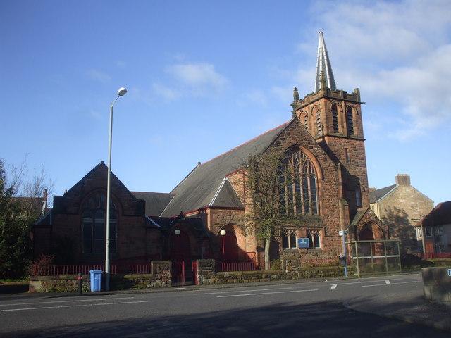 St James's parish church, Falkirk