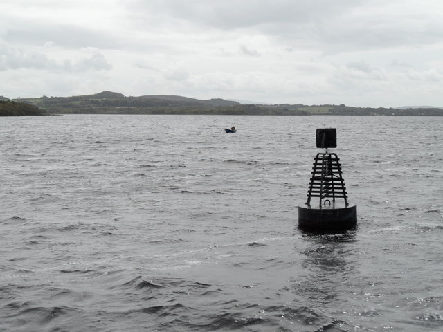 Lough Derg Navigation Marker off Drominagh Point, Co. Tipperary