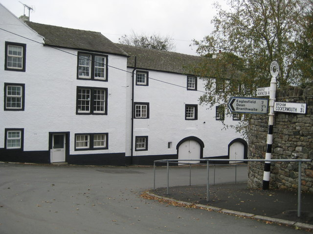 The Old Punchbowl Pub in Greysouthen