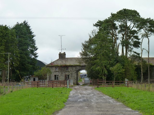 Farmhouse with archway