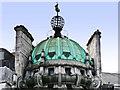 TQ2980 : Dome, globe and verdigris - Trafalgar Square by Mick Lobb