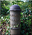 J4279 : Milepost, Cultra by Rossographer