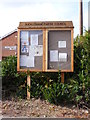 TM2441 : Bucklesham Village Notice Board by Adrian Cable