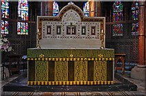 W6671 : St. Fin Barre's Cathedral (interior) - the high altar, Cork by P L Chadwick