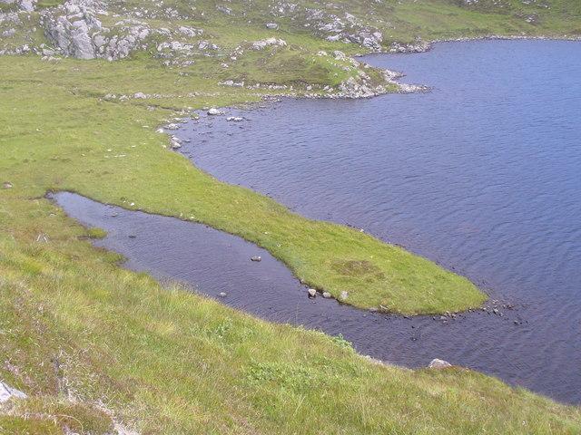 Spit on Loch a' Sgail