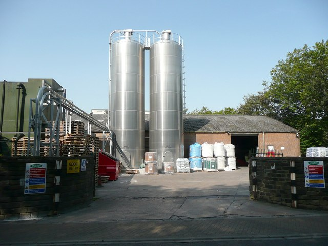 Silos at Valley Mill, Holmes Road, Sowerby Bridge
