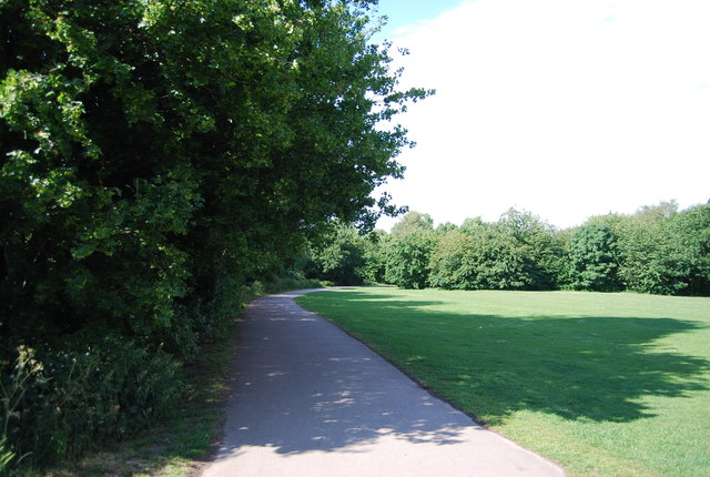 National Cycle Route 5, Cannon Hill Park