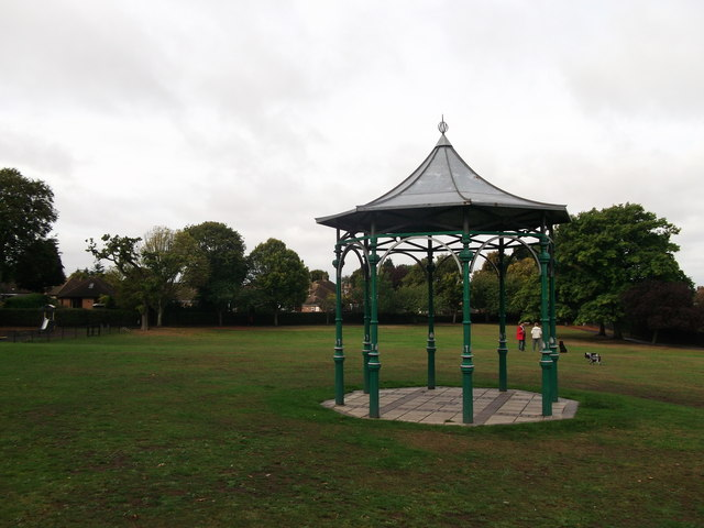Pavilion in Hollydale Recreational Grounds