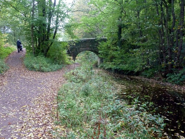 Crich Chase Bridge (no.14) on the Cromford Canal