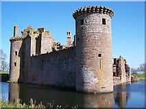 NY0265 : Caerlaverock Castle by James T M Towill