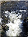 NO1459 : Black Water at Drumfork by Maigheach-gheal