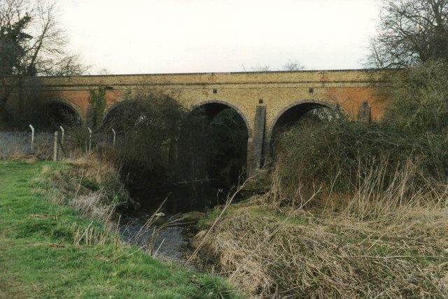 Viaduct over Cripsey Brook Chipping Ongar