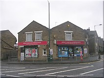 SE1431 : G H Newsagents - Great Horton Road by Betty Longbottom