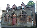 NT2676 : Trafalgar Hall, St. Anthony Place by kim traynor