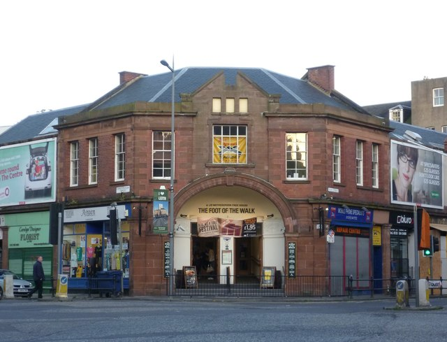 Old Palace Picture House, foot of Leith Walk