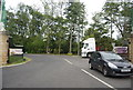 NU0443 : Entrance to Haggerston Castle Holiday Park by N Chadwick