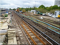 TQ2775 : Removal of old sidings at Clapham Junction by Marathon
