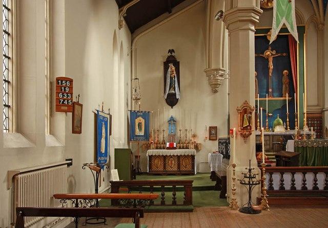 Holy Trinity, Shepherdess Walk, Hoxton - North chapel