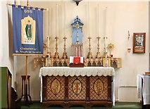 TQ3283 : Holy Trinity, Shepherdess Walk, Hoxton - Lady chapel by John Salmon