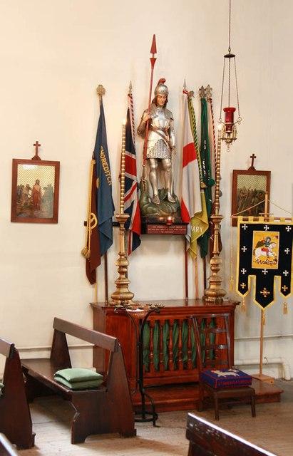 Holy Trinity, Shepherdess Walk, Hoxton - Shrine